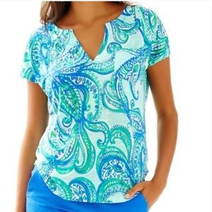 Lilly Pulitzer Duval linen keep it current notch